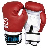 STAMINA Boxing Gloves 10 oz [ST-303-10R] - Red - Other Exercise
